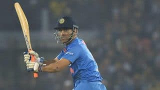 Former Indian Captain MS Dhoni Abuses Manish Pandey, Video Goes Viral