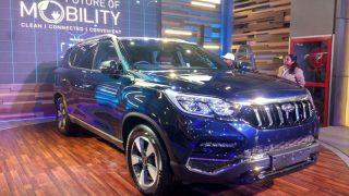 Mahindra Rexton Showcased in India Auto Expo 2018