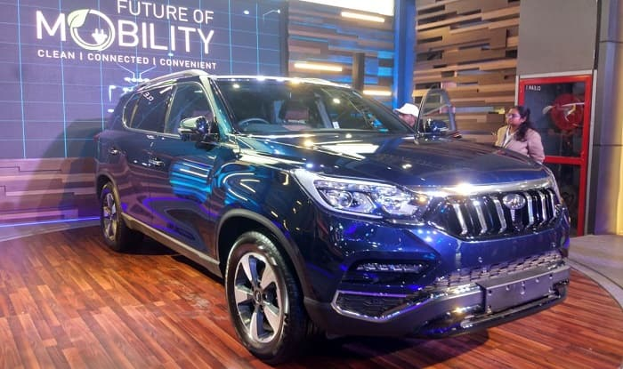 Auto Expo 2018 Mahindra Rexton Showcased In India Price