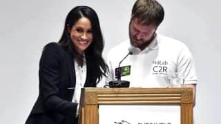 Meghan Markle Leaves Audience in Splits After Goof-Up at Awards Ceremony, Twitter Hails Her Sporting Attitude