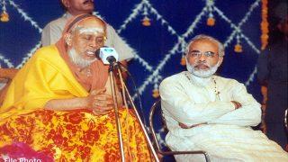 Kanchi Sankracharya Jayendra Saraswathi Death: PM Narendra Modi Condoles Demise of Kanchi Mutt Head