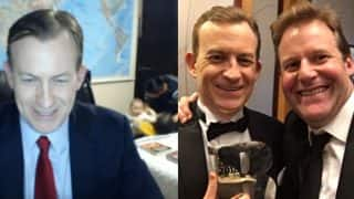 BBC Dad Professor Robert Kelly Wins Timeline TV Moment of the Year Award For the Interview Interrupted by his Kids
