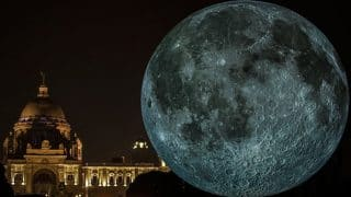 Museum of the Moon: Giant Replica of the Moon Created by Luke Jerram Unveiled at Victoria Memorial in Kolkata by British Council