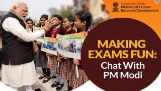 जब मोदी ने छात्रों से कहा था, 'उत्सव की तरह मनाएं परीक्षाओं का जश्न'