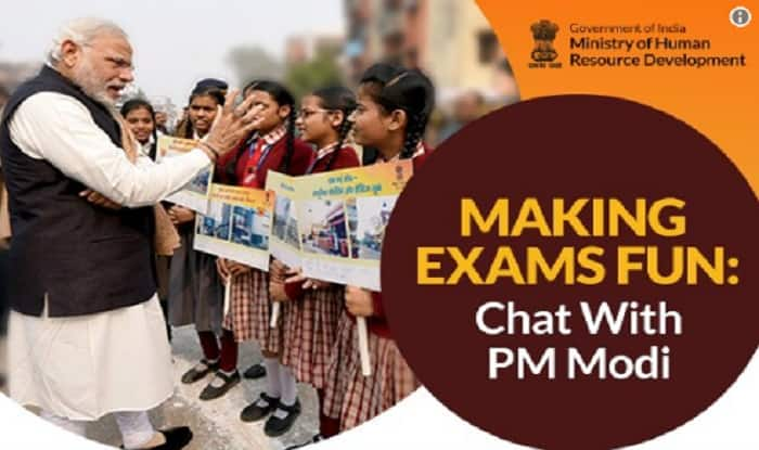 In his address to the students, PM Modi recalls his biggest examination!