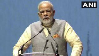 दुबई में भारतीयों के बीच पहुंचे PM नरेंद्र मोदी, अबू धाबी के मंदिर का किया शिलान्यास