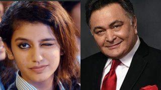 Rishi Kapoor Dedicates A Post To Priya Prakash Varrier;Twitterati Dubs It 'Creepy'