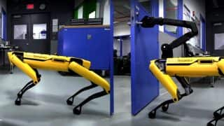 Boston Dynamics Has Come Up With Robot Dog That Can Open a Door