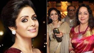 Sridevi's Sudden Demise Shocks And Saddens Hema Malini; Recalls Her Last Meeting With The Actress