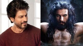 After Ignoring Ranveer Singh's Tweet To Him, Shah Rukh Khan Makes Up For It In Most Charming Manner