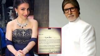 Soha Ali Khan's Feels Honoured As Amitabh Bachchan Reads Her Debut Book And Sends A Letter Of Encouragement - See Tweet