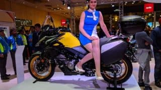 Auto Expo 2018: Suzuki V-Strom 650 Showcased at the Expo