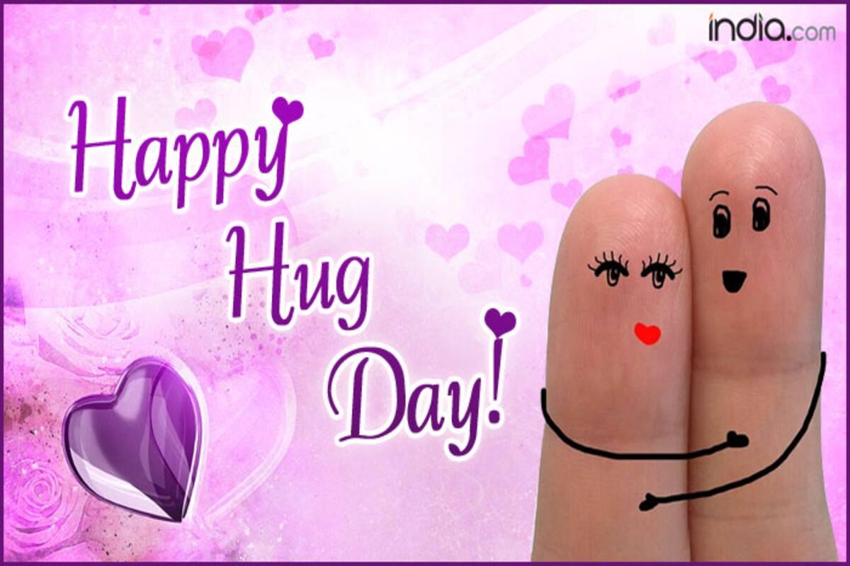 Happy Hug Day 2018 Best Wishes Sms Whatsapp Forwards