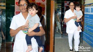 Taimur Ali Khan Already Growing Up To Be A Workout Freak Like Mommy Kareena Kapoor Khan? (View Latest Pics)