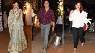 Kareena Kapoor Khan, Akshay Kumar, Twinkle Khanna AndMore Celebs At Director Homi Adjania - Anaita Shroff's Sons' Navjote