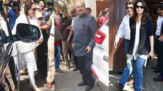 Madhuri Dixit Nene, Amar Singh, Jaya Prada Visit Anil Kapoor's Residence To Console Janhvi Kapoor After Sridevi's Sudden Death - See Pics