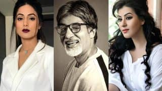 Amitabh Bachchan Is A Fan Of Shilpa Shinde And Hina Khan, Here's Proof