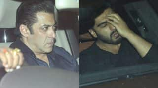 Sridevi's Mortal Remains Reach Mumbai, Salman Khan, Arjun Kapoor Visit Her Residence At Midnight To Pay Respects - See Pics