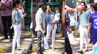 Misha Kapoor Has A Fun Day Out With Mom Mira Rajput And Uncle Ishaan Khatter - View Pics