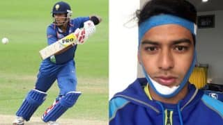 Unmukt Chand Scored a Century in Vijay Hazare Trophy With a Broken Jaw, Twitterati is Reminded of Anil Kumble