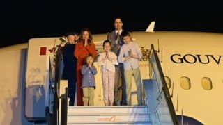 Canadian PM Justin Trudeau Arrives in India For His Week Long Visit