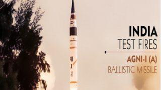 India Successfully Test-fires Indigenous Nuclear Capable Agni-I Ballistic Missile Off Odisha Coast