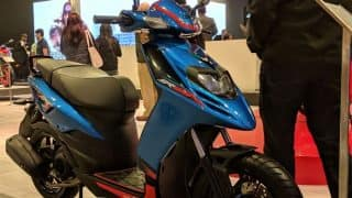 Auto Expo 2018: Aprilia SR 125 Launched at the Expo, Priced at INR 65,310