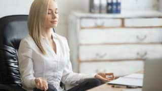 5 Yoga Asana You Can Do at Your Work Desk for Stress Relief