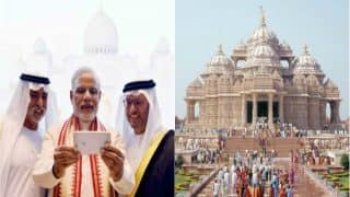 Prime Minister Narendra Modi to Inaugurate Abu Dhabi's First Hindu Temple Today