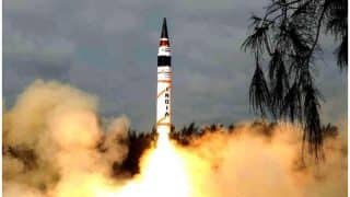 Nuclear-capable Agni 5 Successfully Test Fired Off Odisha Coast - Here's All You Need to Know