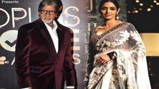 Amitabh Bachchan Felt Unusually Uneasy Minutes Before Sridevi Passed Away - Read Tweet