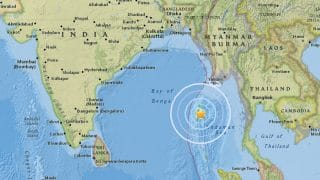 Earthquake of 5.6 Magnitude Strikes Andaman Islands; No Casualty Reported