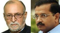 Delhi Chief Secretary Assault Case: LG Anil Baijal Meets CM Arvind Kejriwal, Says No Place For Violence in Democracy