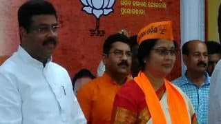 Odiya Actor Aparajita Mohanty Joins BJP Ahead of Bijepur Bypoll in Odisha