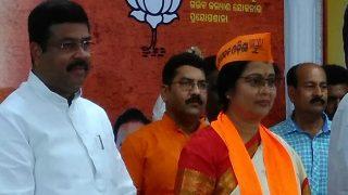 Odiya Actor Aparajita Mohanty Joins BJP Ahead of Bijepur Bypoll in Odisha