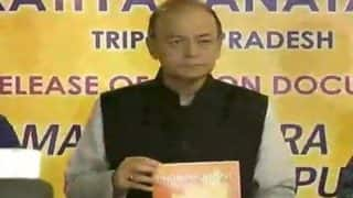 Tripura Assembly Elections 2018: Arun Jaitley Releases BJP's Vision Document