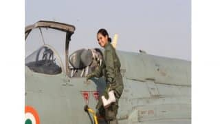 Flying Officer Avani Chaturvedi Becomes First Indian Woman to Fly a Fighter Aircraft MiG-21 Bison Solo