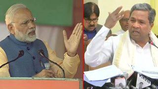 सिद्धारमैया का मोदी पर पलटवार- 'मर्यादा और तथ्यों से लड़ने दें कर्नाटक चुनाव'