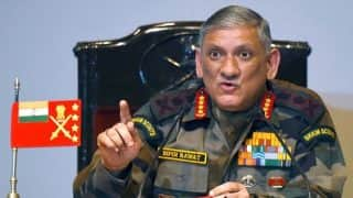 Will Not Hesitate in Taking Strong Action Against Terror Activities Along Pak Border: Army Chief Bipin Rawat
