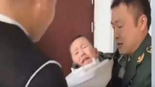 Little Boy Traps His Head in Toilet Seat; Gets Freed by Firefighters (video)