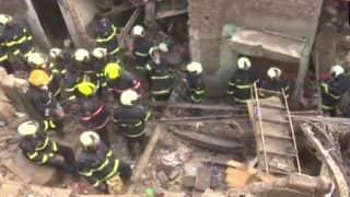 Mumbai: Building Collapses in Wadala; Search And Rescue Operation Underway