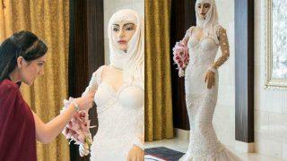 London-Based Designer Debbie Wingham Creates Life-Sized Bride-Shaped Cake That Costs USD 1 million; On Display at Bride Show Dubai