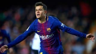 Philippe Coutinho, Arthur Melo Absent From Barcelona Practice Ahead of Real Sociedad Clash