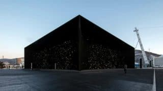Darkest Building on Earth Unveiled at Pyeongchang Winter Olympics; Made Using 'Vantablack', the Darkest Man-Made Substance in the World