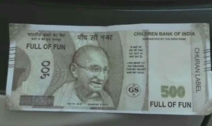 Axis Bank ATM Dispenses 'Children Bank Of India' Fake Currency In Kanpur
