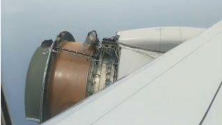 Plane's Engine Covering 'Cowling' Falls of Mid-Flight; SFO-Honolulu Flight Makes Emergency Landing (Video)