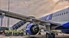 गो एयर फ्लाइट की इमरजेंसी लैंडिंग, प्लेन में सवार 112 यात्री बाल बाल बचे