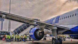 दिल्ली में गो एयर के विमान की इमरजेंसी लैंडिंग, यात्री सुरक्षित