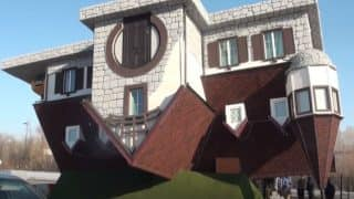 Russia Opens Biggest Upside-Down House in the World; Take a Tour of the House Through This Video
