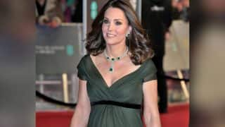 BAFTA Awards 2018: Kate Middleton Breaks Time's Up Dress Code; Wears Green Gown At The Ceremony